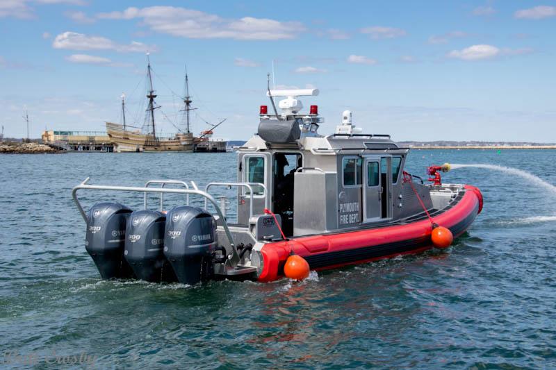 Plymouth Ma Fireboat