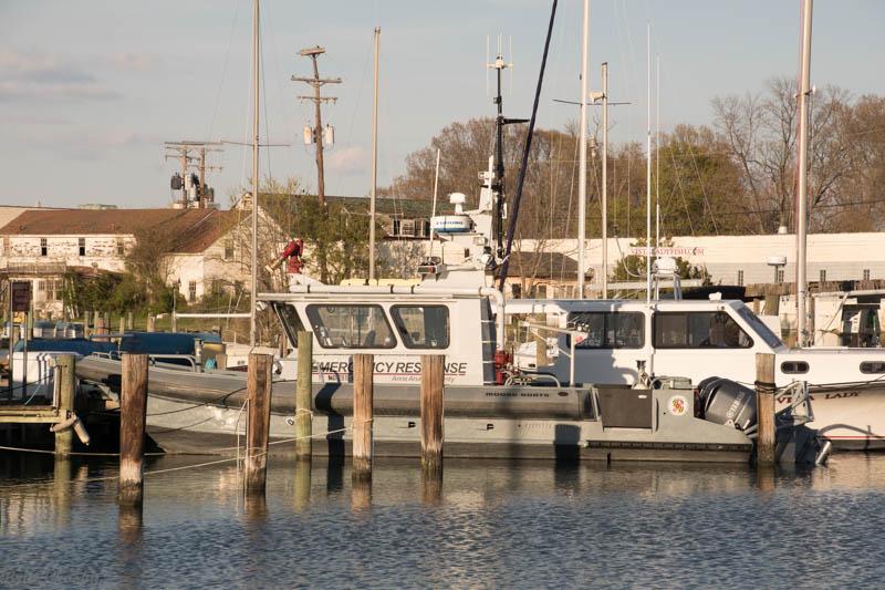Shady Side MD Fireboat